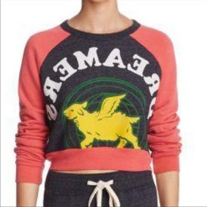 University of Tomorrow Cropped Sweatshirt